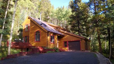 Crystal Spruce Cabin in the fall