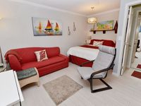 Sea Rocket #18- 2nd Floor Updated Efficiency Condo in a Gulf Front building!