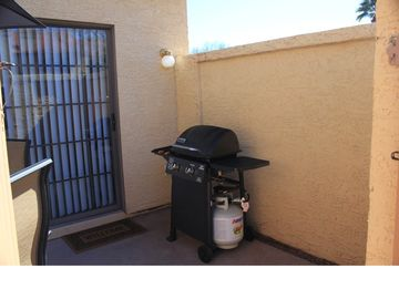 BBQ grill on the patio