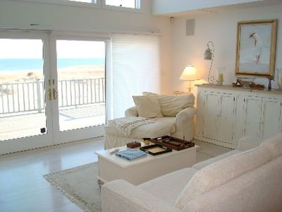 Westhampton Beach house rental - View from Living Room