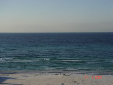 Our gulf and beach view-Destin to Panama City!