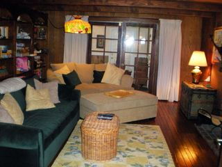 "Big Bear Lake chalet photo - Really comfy ""Man Cave"" and great games & toys for kids!"