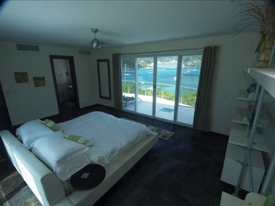 Master Suite (king size bed, vast balcony amazing view, & bath/shower w/views)