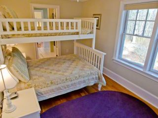 Vineyard Haven house photo - Bedroom Suite #3 - Has Bunk Beds With Full & Twin Beds, Shared Bath. Second Floor