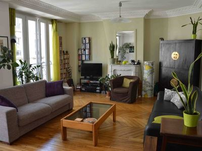 Apartment in Paris next park and canal Saint-Martin Ourq