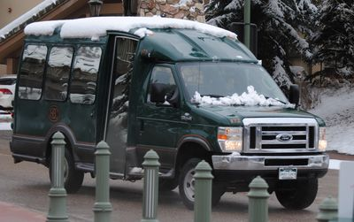 Shuttle bus service provides complimentary transportation within Beaver Creek.