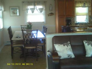 Beach Haven Garden house photo - Open floor plan, dining area next w/bkfst nook next to kit.and family room area