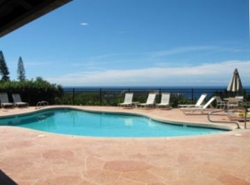 Kailua Kona condo rental - Pool & Hot tub just 4 doors away from our condo, 2 more pools & hot tub, tennis