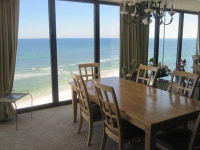 Dining Area Overlooking the Gulf
