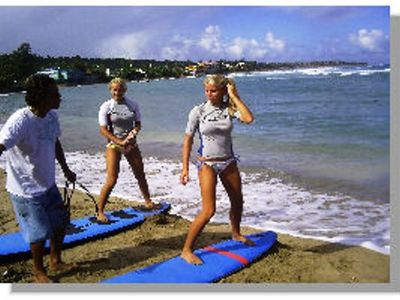 Take a Surf Lesson at Jobo's Beach