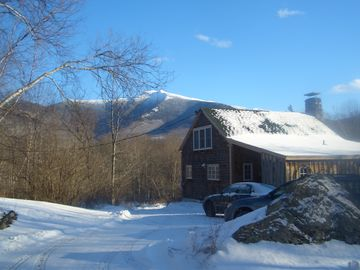 Winter view of Mt Mansfield