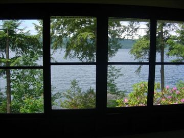 View of Lake from Porch