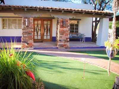 Front Entrance Facing Putting Green
