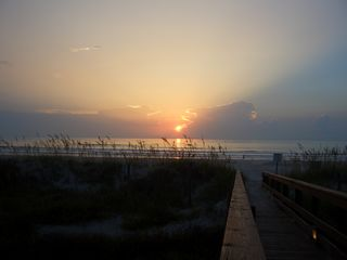 St. Augustine Beach condo photo - Here comes the sun...