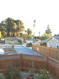 Ventura chateau / country house rental - View from porch, set 75 feet back from street