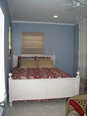 Anna Maria house photo - Bedroom with Queen Bed & Bathroom