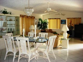 Key Largo house photo - Elegant Dining and Family Room
