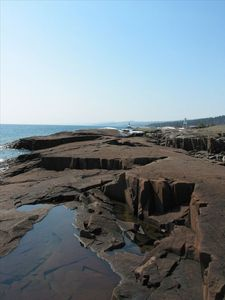 Another view: Grand Marais Harbor