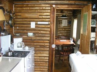 Pemaquid Point cottage photo - Kitchen to Dining
