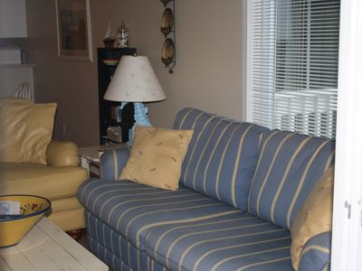 Atlantic Beach condo rental - Sleeper Sofa
