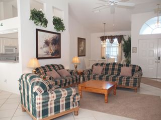 Briarwood Naples house photo - open living room area