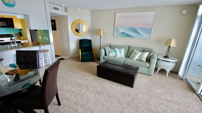 Cozy Ocean Front one bedroom condo directly on the beach