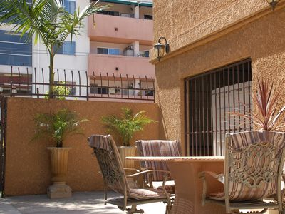 North Hollywood condo rental - Multiple sunlit patios~