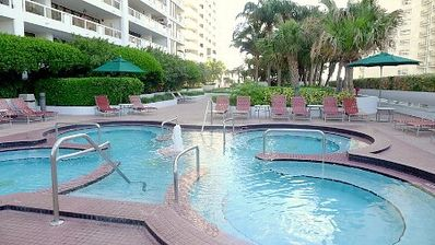 Miami, The Grand DoubleTree Hotel : jacuzzis