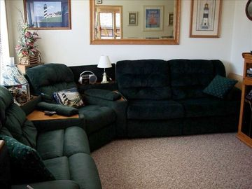 Love Seat portion of Living Room Sectional