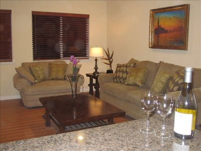 Al Tahoe house rental - Spacious Living room with Queen Sofa bed