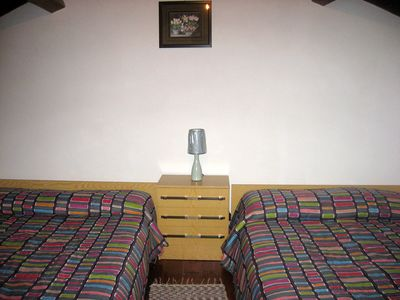 Sao Miguel Island house rental - bedroom with 2 double beds