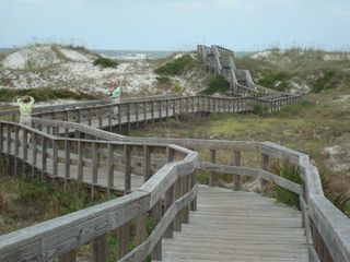 New Smyrna Beach condo photo - Dunes Park at the Inlet, 1.5 mile boardwalk