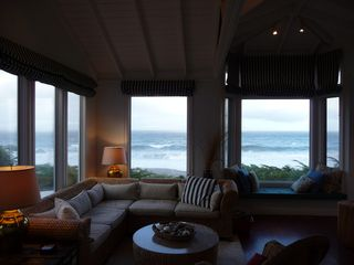 Bodega Bay cottage photo - View of ocean from living room