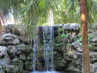 Secluded waterfall on property - North Naples condo vacation rental photo