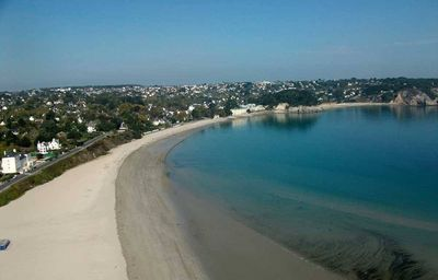 Crozon Morgat apartment feet in water, 180 ° view sea, beach Morgat