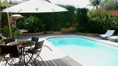 A Carqueiranne villa with private pool, 3 bedrooms, for 8 people
