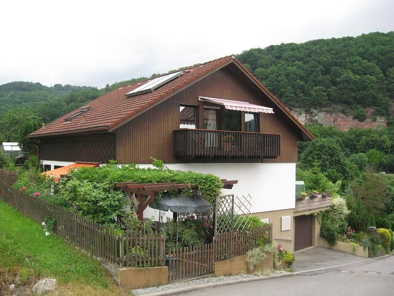Apartment is located on the Neckar valley trail and Neckar rising