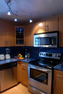 Full Brand New Kitchen with Stainless Steel Appliances