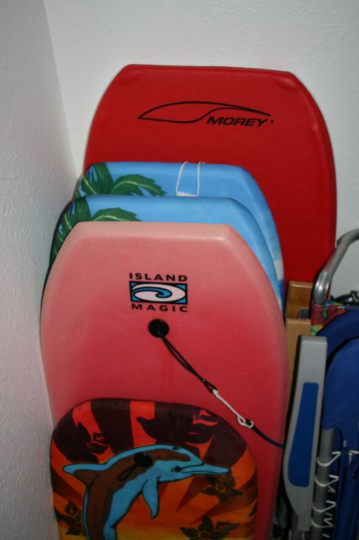 Boogie Boards for your use.