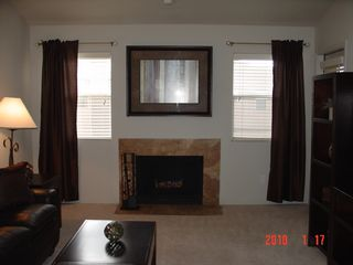 Scottsdale condo photo - Cozy fireplace, access to balcony on right