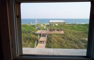 ocean front view from master bedroom