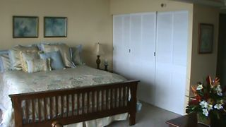 Waikiki condo photo - Huge King size bed and huge closet