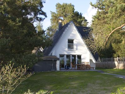 New cottage in Fig.1. Series on Peenestrom with water views, 100m to the beach