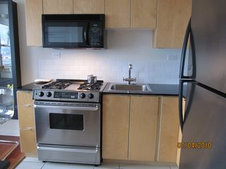 Vancouver apartment photo - Kitchen with Gas Stove