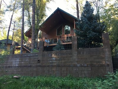 Beautiful, Large Cabin on Tonto Creek in Kohl's Ranch (next to Camp Tontozona)