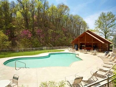 Alpine Mtn Village Resort has 2 swimming pools, covered pavilion & playground