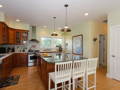 St. Michaels house rental - Kitchen is Updated and Perfect for Enjoying Meals at Home