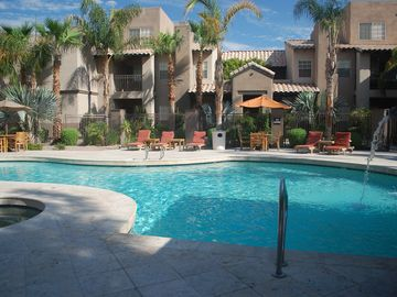 Scottsdale North condo rental - Pool, Spa and Barbeque Area