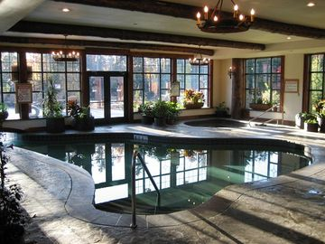 Indoor Swimming Pool With Hot Tub