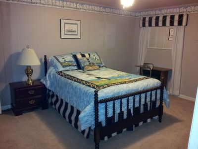 Hot Springs house rental - Bedroom 4 with double bed